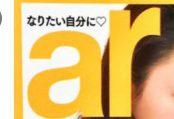 堀北真希の妹nanami(原奈々美)は美容雑誌arにも掲載