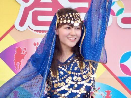 村重マリアは地方のイベントなどで芸能活動