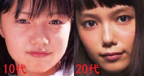 宮崎あおいは鼻を整形?10代20代を比較