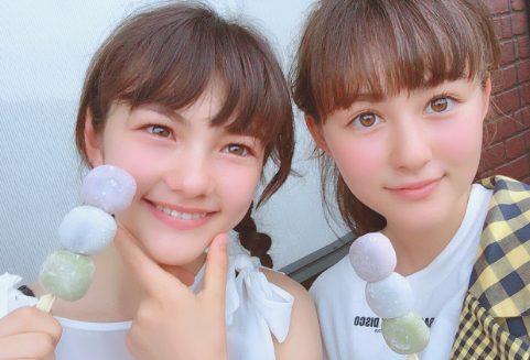 村重杏奈姉妹画像