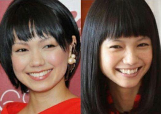 二階堂ふみ(左)と宮崎あおい(右)は姉妹じゃない