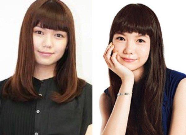 二階堂ふみ(左)と宮崎あおい(右)は姉妹?