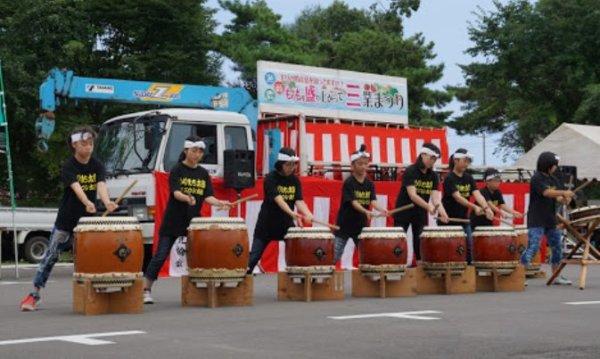 松山ケンイチの目撃情報があった北海道森町の三業祭