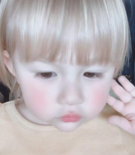 村重杏奈の弟(長男)のしょうまの画像