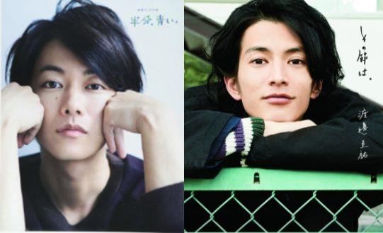 佐藤健と渡邊圭祐(たけすけ)の顔画像をを比較