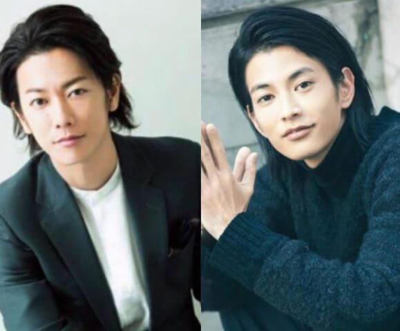 佐藤健と渡邊圭祐(たけすけ)の面長な顔が似てる