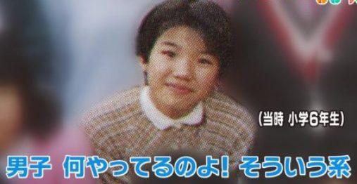 豊田真由子が小学校6年生の頃の画像