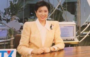 テレビ東京の「ワールドビジネスサテライト(WBS)」の初代メインキャスターに就任