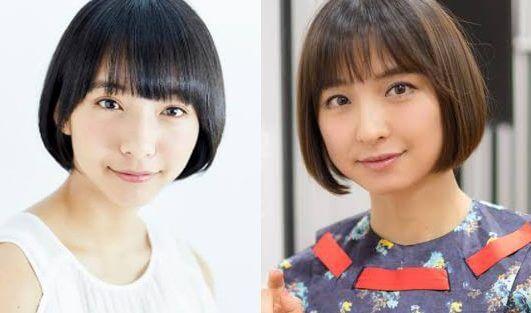 山之内すずに一番似てる芸能人は、篠田麻里子