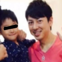 富川悠太の嫁みきと子供の写真