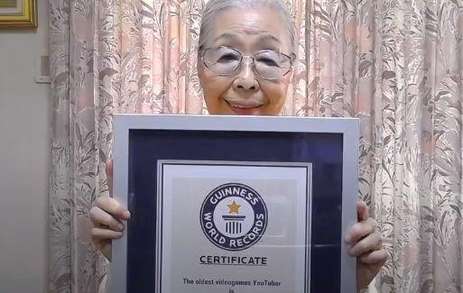 ゲーマーグランマ森浜子がギネス認定!世界の反応が凄い!