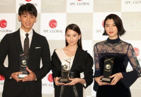 竹内涼真(左)と三吉彩花(右)はヘアスタイルイベントが出会い?