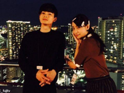 山本美月と瀬戸康史がドラマ「HOPE」でオフショット