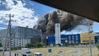 南船橋の火災現場はどこ?ららぽーとIKEAや海浜病院など情報多数!