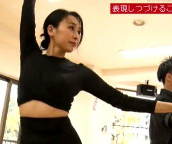 浅田舞は1年前から社交ダンスを始めていた!