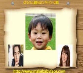 三浦翔平と桐谷美玲の子供の顔画像は?
