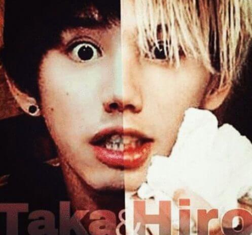 hiroとTakaは年齢差が6歳!