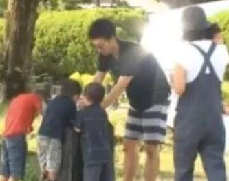 滝藤賢一はぎっくり腰なのに子供と遊んだ!