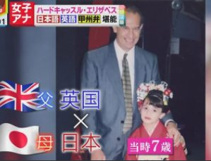 ハードキャッスルエリザベスはハーフ!国籍や両親の出身は!?