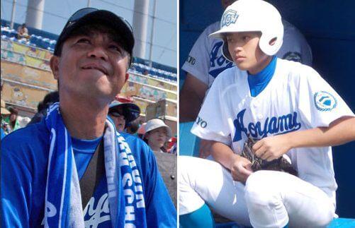 中山秀征の青学野球部の息子は長男の翔貴!顔画像がイケメン!