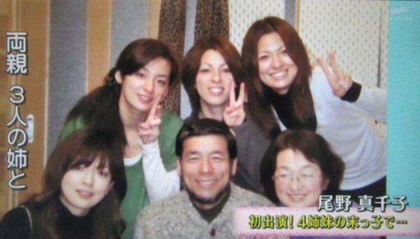 尾野真千子実家の4姉妹が美人!顔写真や名前まとめ!